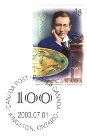 Canadian Stamp Honoring Marconi