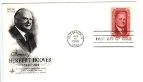 US Stamp Honoring Herbert Hoover