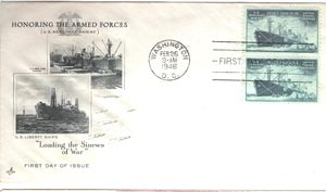 1940's US Merchant Marine stamp
