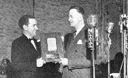 Jack Poppele and Bill McGonigle in 1947